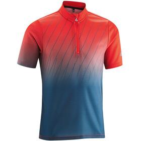 Gonso Dany Koszulka kolarska, krótki rękaw Dzieci czerwony/niebieski